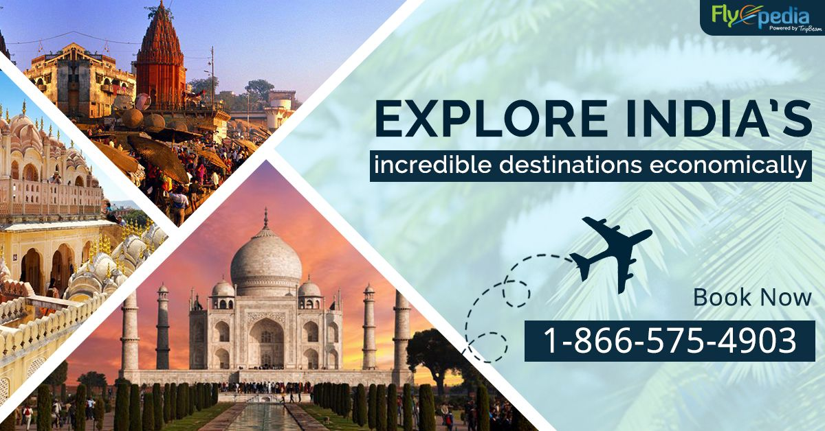 Love to Travel! Book your flight tickets to #India at lowest airfares with #Flyopedia and explore your favourite #IndianDestinations.   For more information call us at- 1-866-575-4903 (Toll-Free)  #BookCheapFlights #travelforless #flightdeals #Vacation #AirFares #CheapFlights #FlightSearch #CheapFlightTickets #traveling #explore #travellover #CheapFlightBooking #LowestAirfare #BookNow