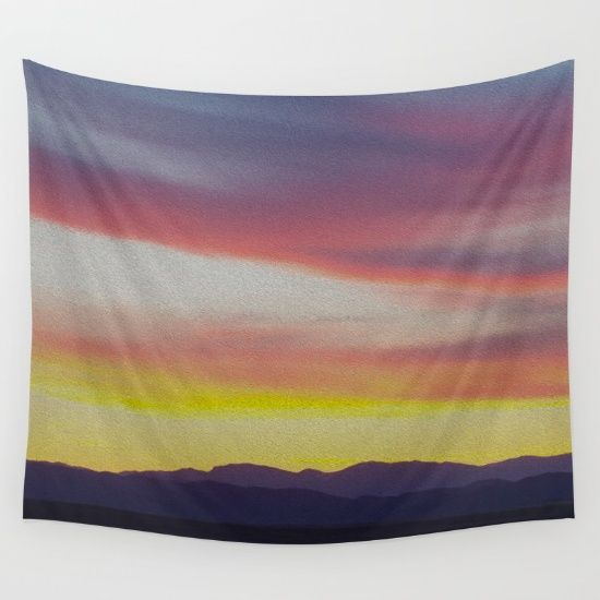 BuyTobacco Root Mountains by Lotus Effects as a high quality Wall Tapestry. Worldwide shipping available at Society6.com.