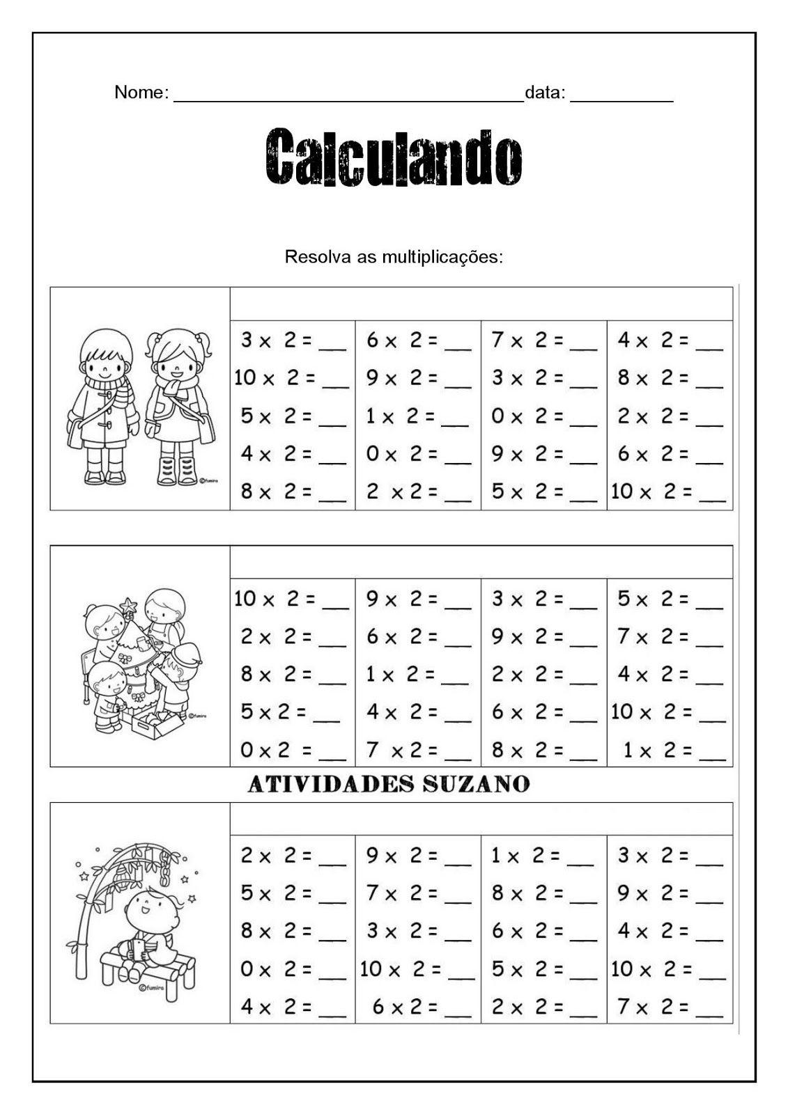 Multiplicando E Achando Os Resultados Em Math2 T