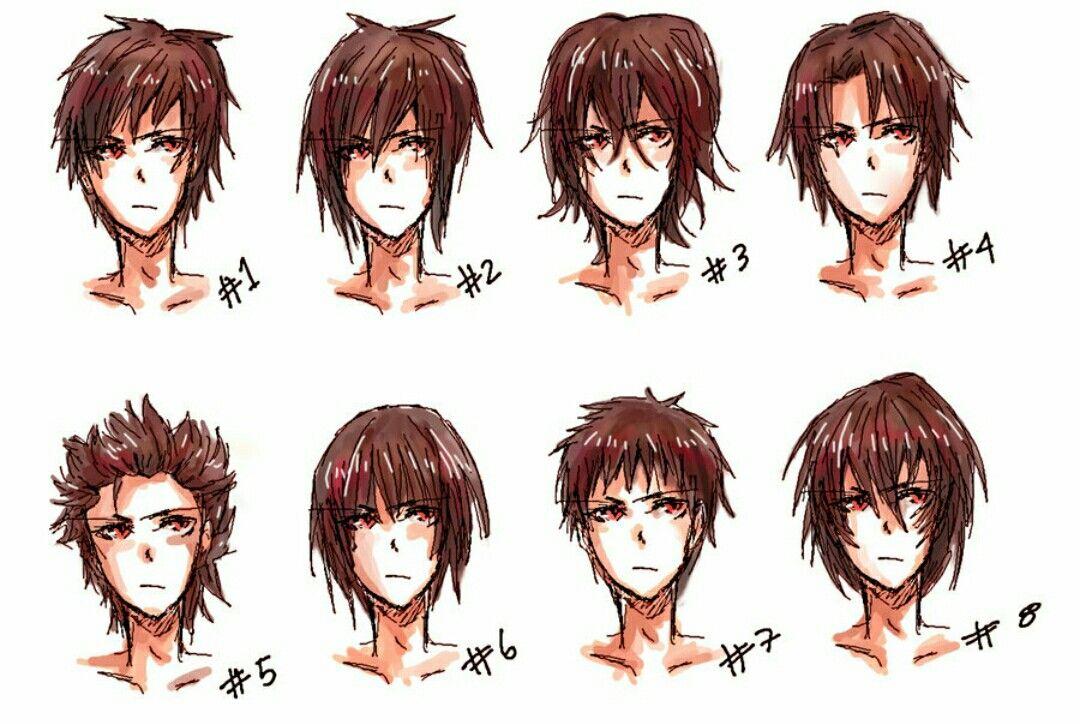 Estilos De Cabello Para Chicos Anime Boy Hair Manga Hair Anime Hair