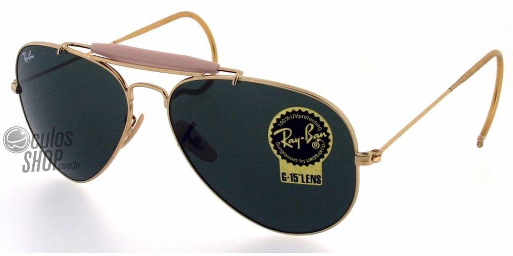 5f3cd7237c734 óculos ray ban aviador rb3030 haste de mola   2016   Ray bans