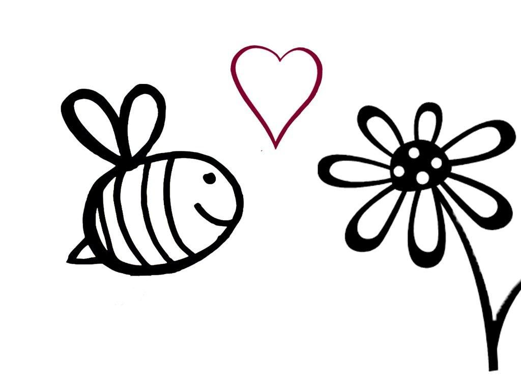 Bumble Bee Stencil for Onesie Decorating! (For Jenna & Tim