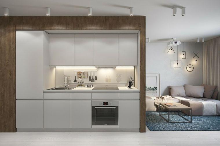 Aménager un studio  intérieurs design de moins de 30m2 Small