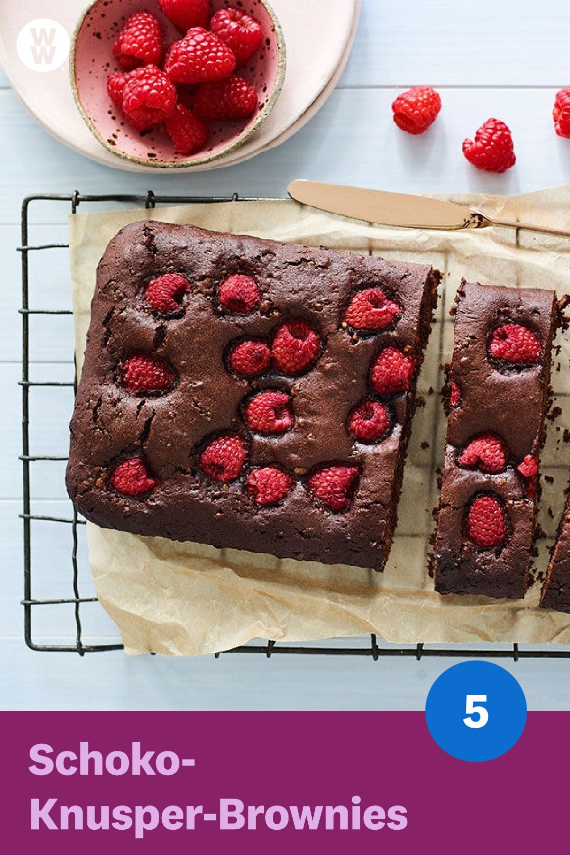 Photo of Crunchy chocolate brownies