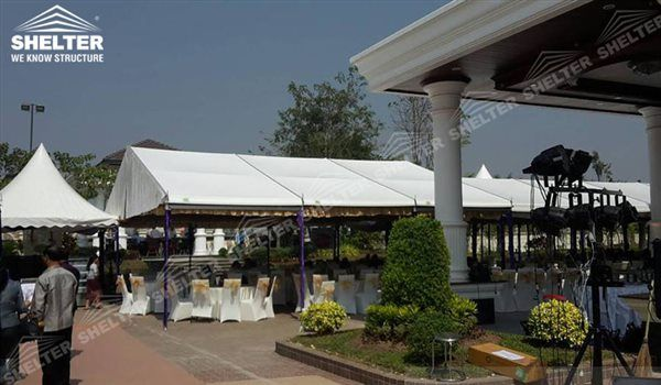 Shelter 10 X 20 Tent Wedding Hall Party Marquee Luxury Reception Tent Outdoor Catering Venue Party Tent Tent A Frame Tent