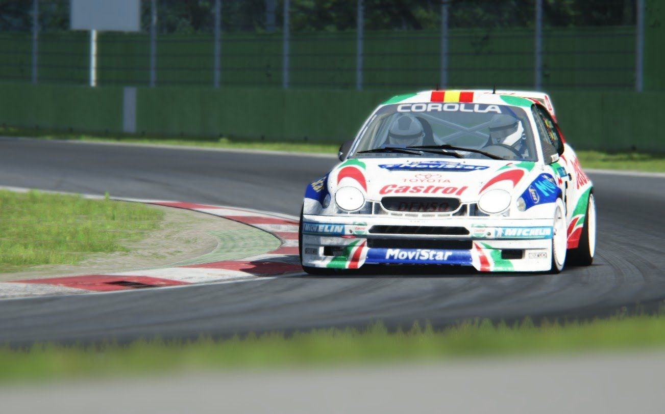 Assetto Corsa - WRC Toyota Corolla - Imola   Toyota corolla