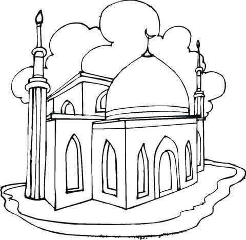 Moschee Ausmalbild Islam Ausmalbilder Moschee Und Ausmalen