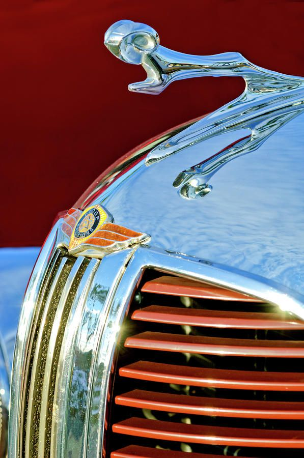 1938 Dodge Ram Hood Ornament 3 by Jill Reger | Hood ornaments, Car hood  ornaments, Ornaments