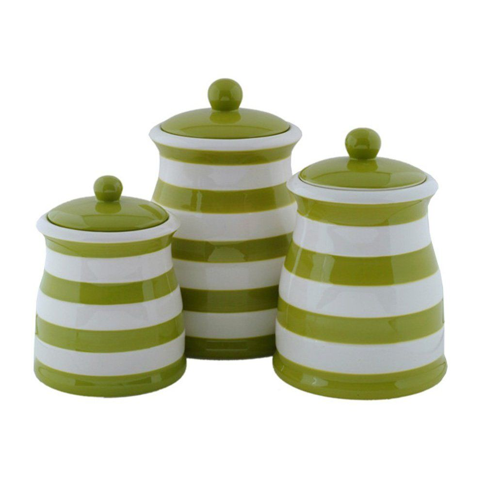 Green Kitchen Canister Set 17 Best Images About Canisters Measuring Spoons On Pinterest