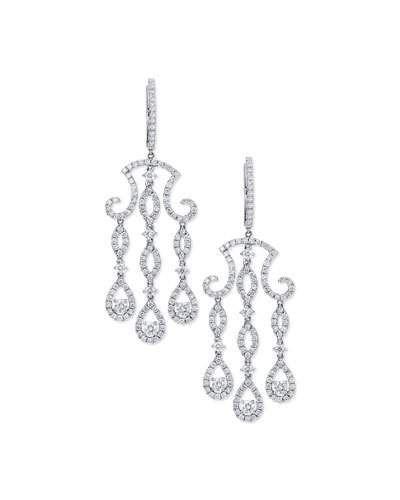 Bessa three drop diamond chandelier earrings in 18k white gold bessa three drop diamond chandelier earrings in 18k white gold bessa aloadofball Images