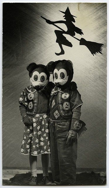 Scary Mickey Mouse Costume