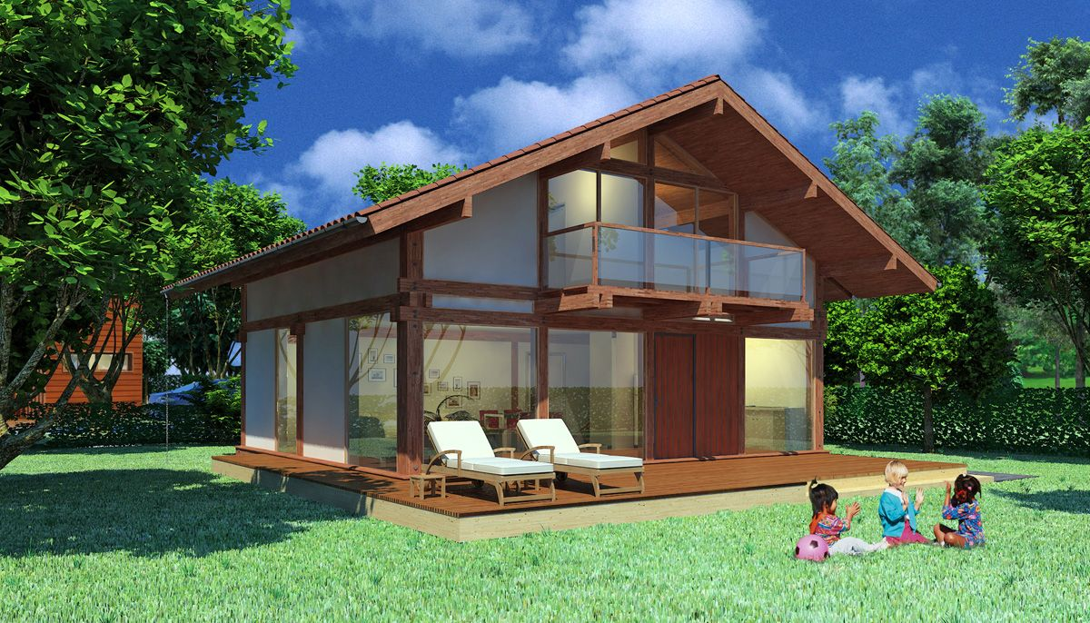 wood houses laminated wood post and beam type house intended for  prefabricated wooden houses The Advantages