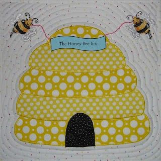 beehive quilt block, and since Melissa means honey bee, its ... : honey bee quilt pattern - Adamdwight.com