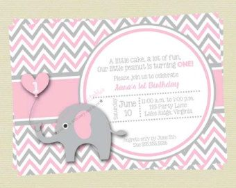 Pink elephant baby shower invitation diy by lolsondesigns on etsy pink elephant baby shower invitation diy by lolsondesigns on etsy filmwisefo