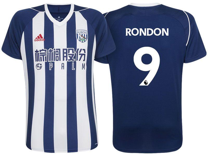 West Bromwich Albion FC Jersey salomon rondon 17-18 Home Shirt ... 96fc2dbea