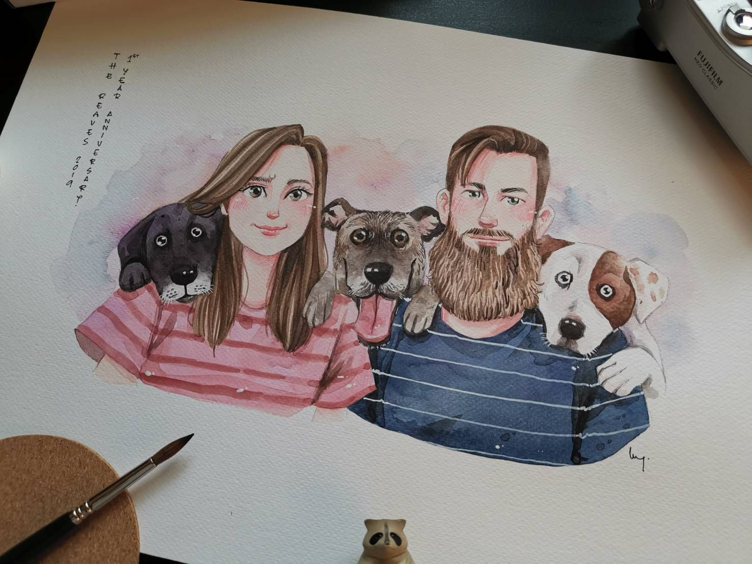 Photo to Cartoon Family Portrait with Pets. Family Caricature Pet and  Owner. Cartoon Character Portrait with Dog. Pet Family Portrait | Photo to  cartoon, Family pet portraits, Family cartoon