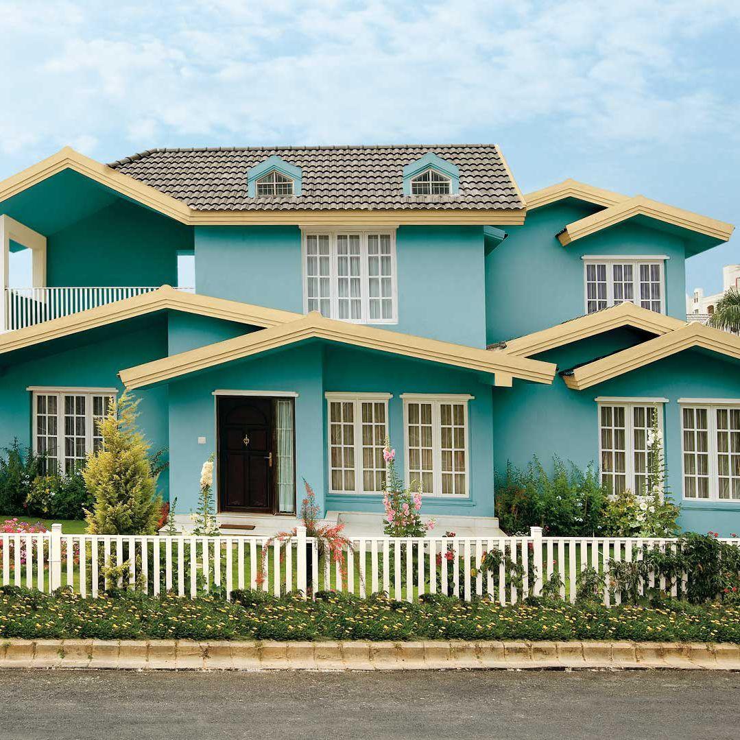 Asian Paints Exterior Colour Combination House Painting Colour Combinations House Paint Design Exterior Color Combinations