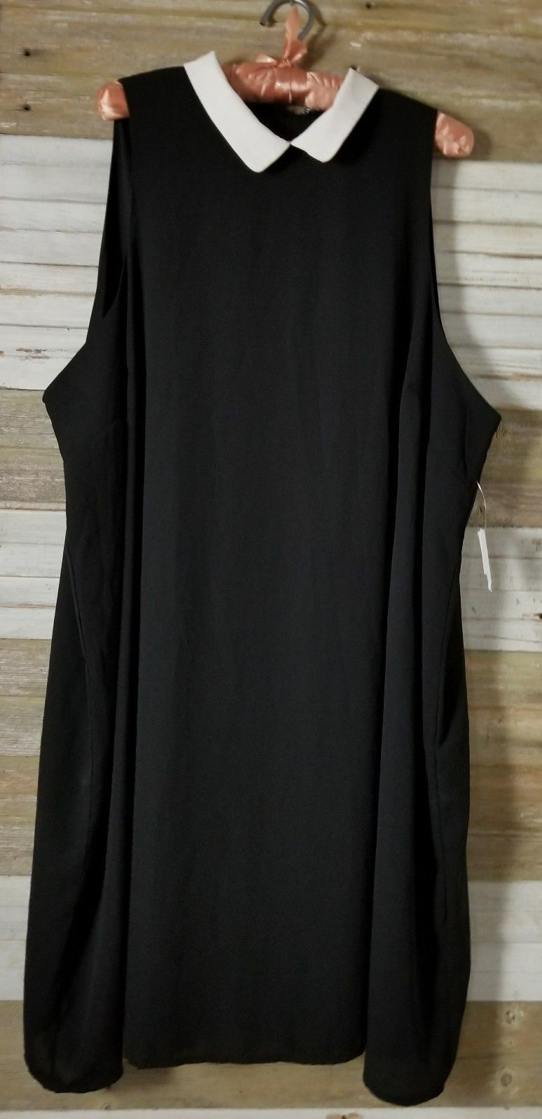 Cool charlotte russe nwt plus size x black sleeveless cocktail