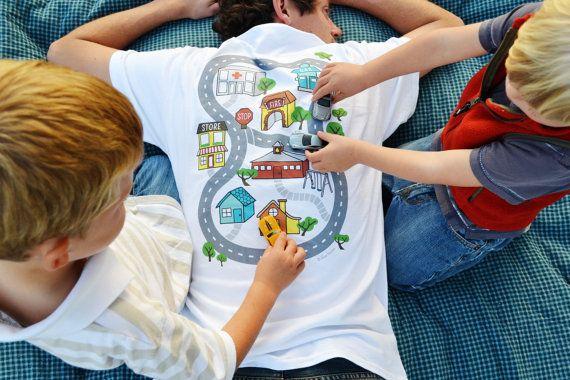 auto play shirt kinder fahren autos auf von. Black Bedroom Furniture Sets. Home Design Ideas