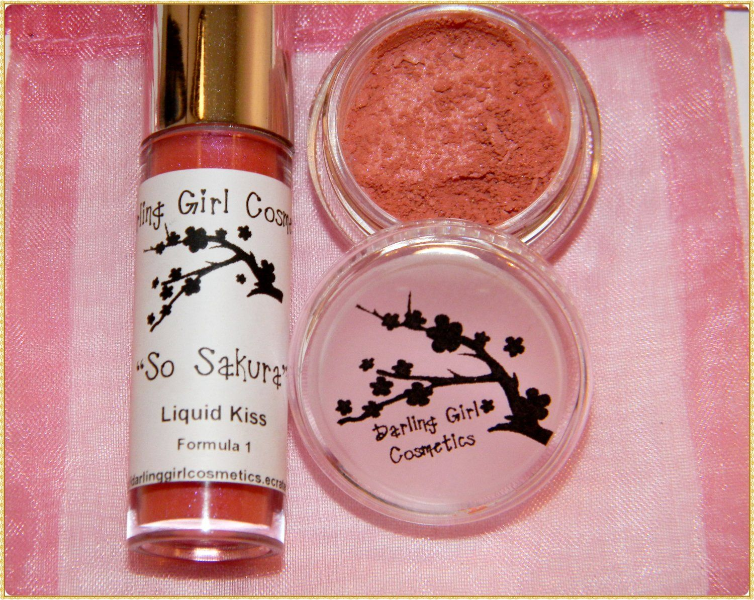 So Sakura gift set  ♥ Darling Girl Cosmetics Eye Shadow