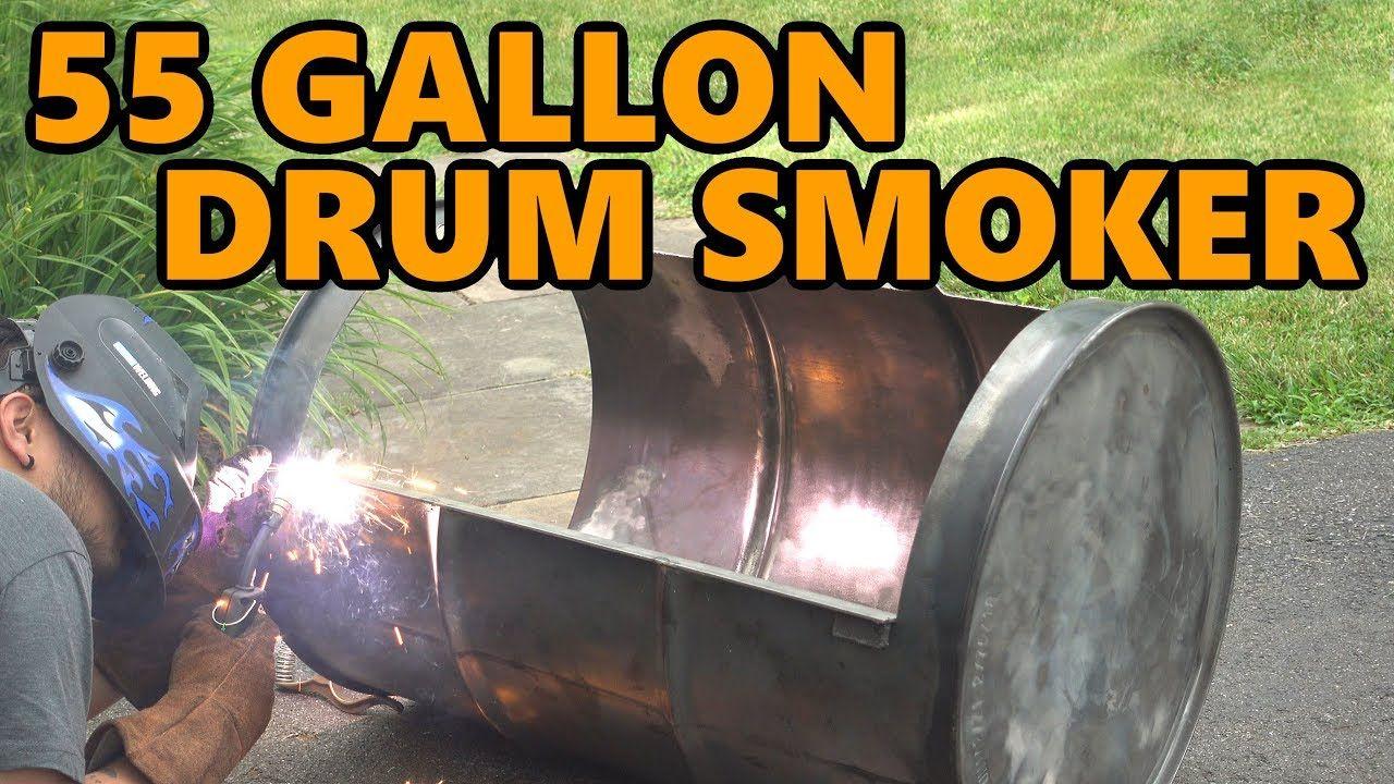 55 gallon drum smoker build project 55 gallon drum