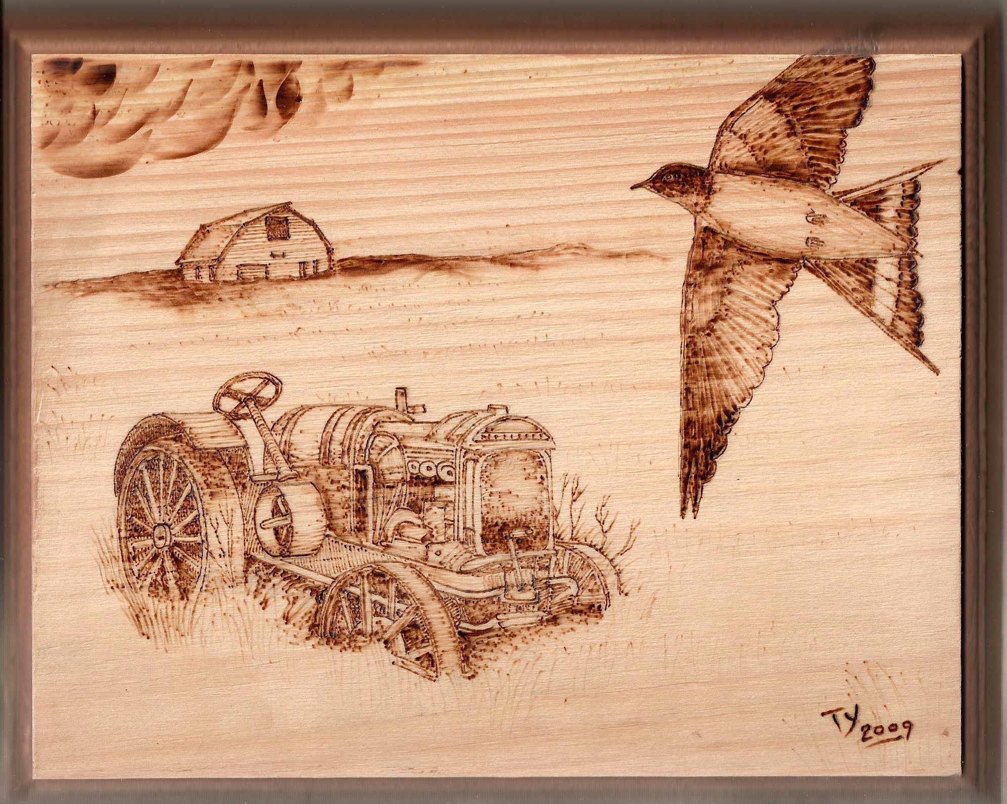 Woodburning - Old New Art