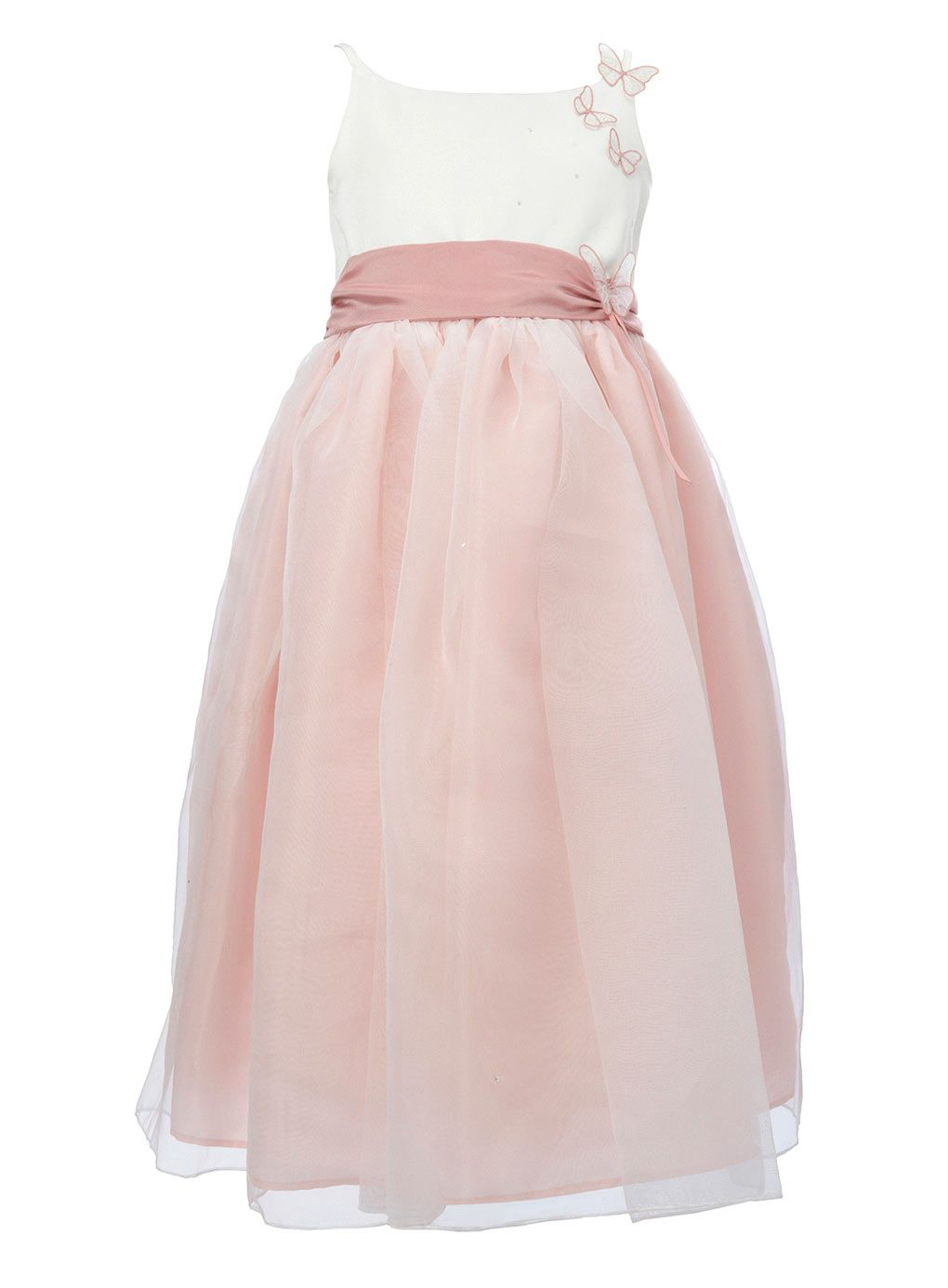 Lela butterfly dusky pink bridesmaid dress bhs for my for Dusky pink wedding dress