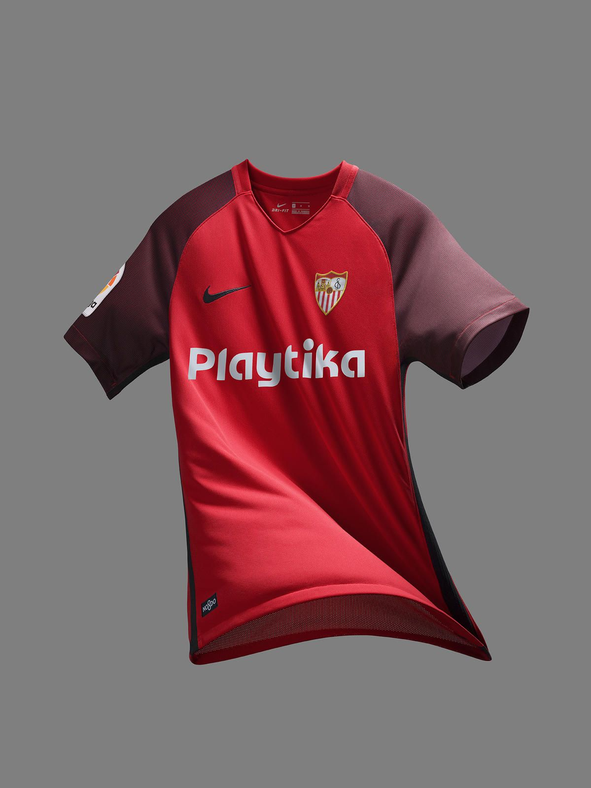 Sevilla FC Keeps Its Classic Andalusian Look for 2018 19 7d956cd93