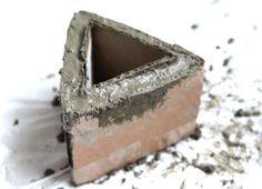 Diy Make Concrete Planters A Piece Of Rainbow Concrete Planters Concrete Diy Diy Concrete Planters