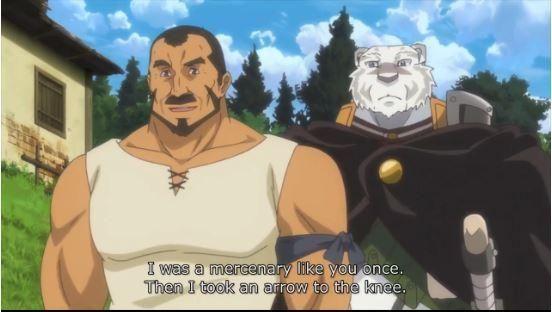 Skyrim Meme In Anime Sauce Zero Kara Hajimeru Mahou No Sho