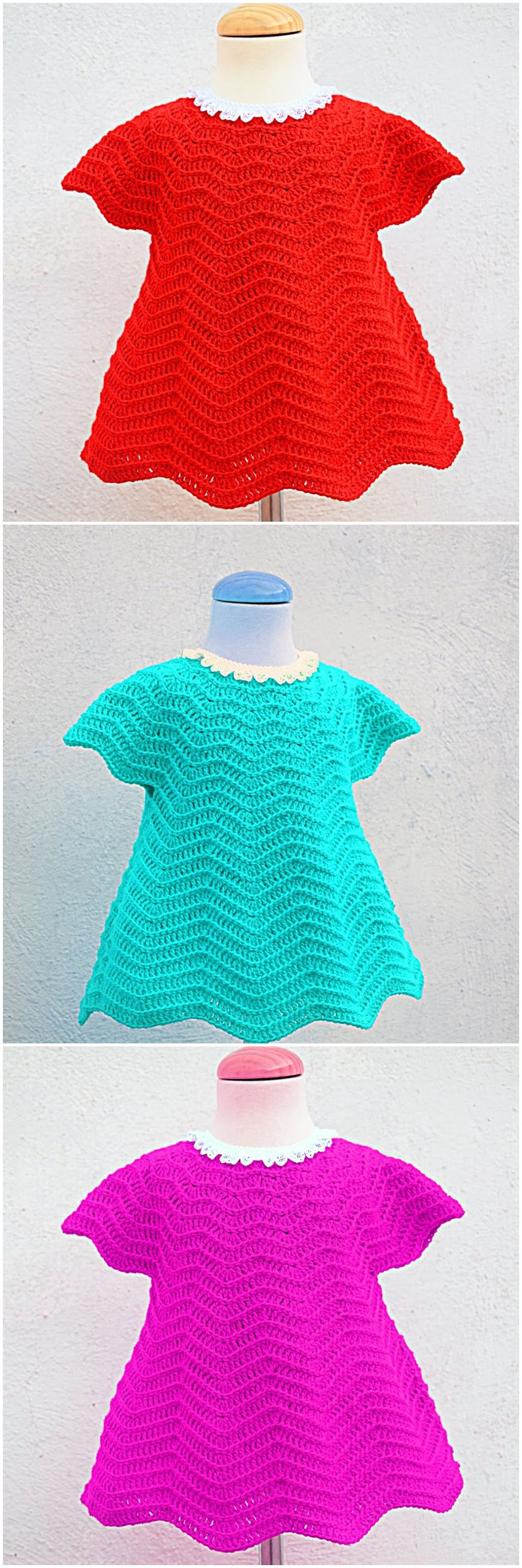 Photo of Crochet Baby Girl Dress For Christmas – Crochet Ideas