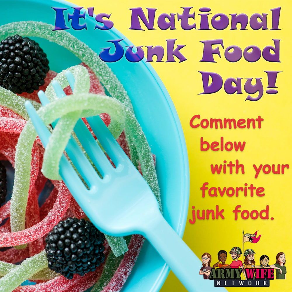 It's National Junk Food Day! Foods to avoid, Junk food, Food