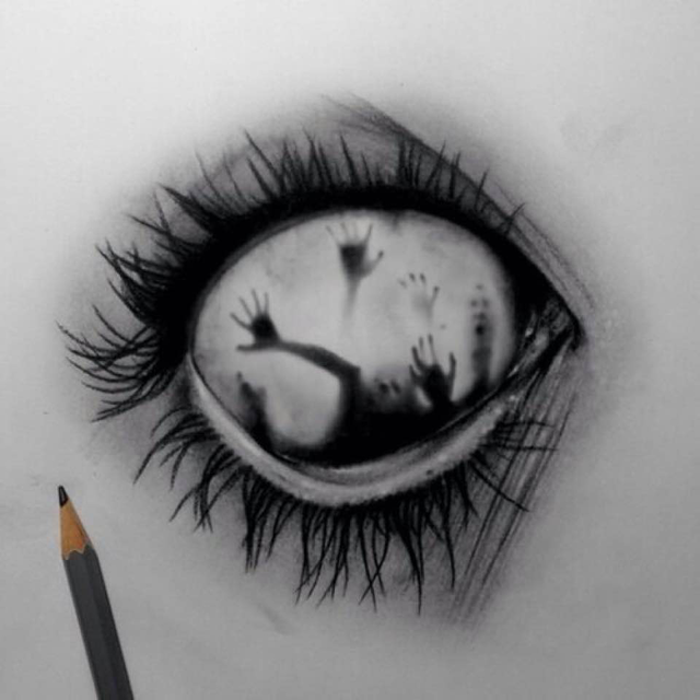 Crying Eye Drawing Tumblr Anazhthsh Google With Images Eyes