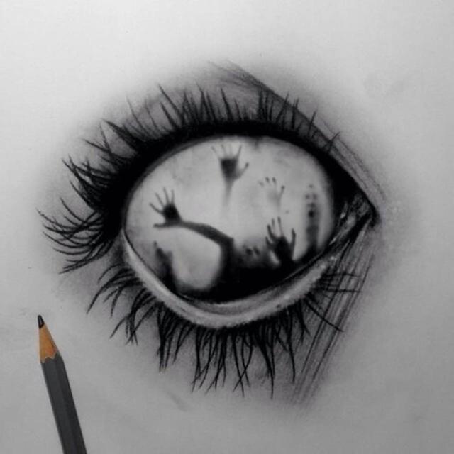Crying Eye Drawing Tumblr Anazhthsh Google Eyes Drawing Tumblr Dark Art Drawings Creepy Drawings