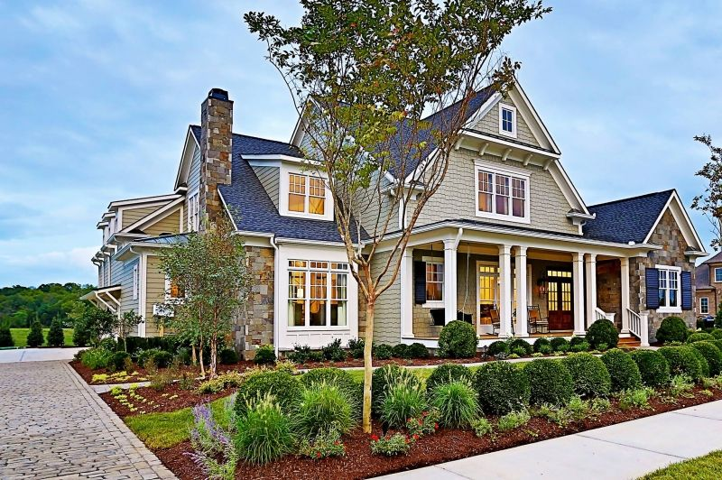craftsman cottage northfield manor home plans and house plans by frank betz associates