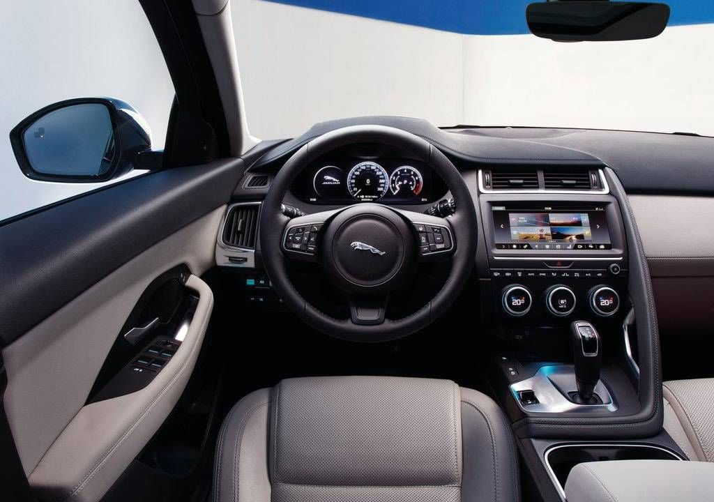 Jaguar E Pace 2019 2020 Um Crossover Compacto Jaguar Preco Consumo Interior E Ficha Tecnica Jaguar E Jaguar New Jaguar