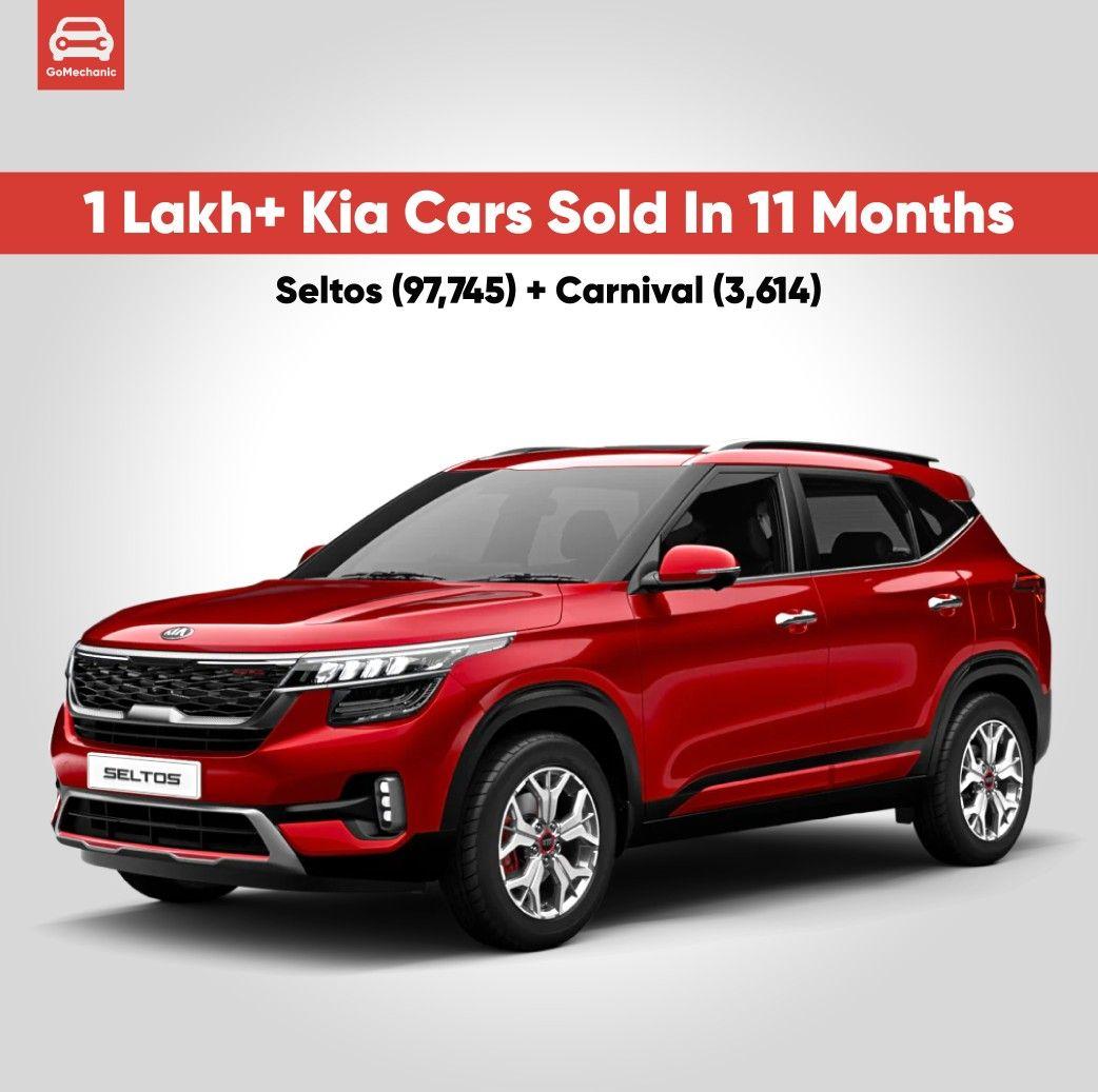 1 00 000 Kia Cars Sold In 11 Months Kia Motors Kia Motor