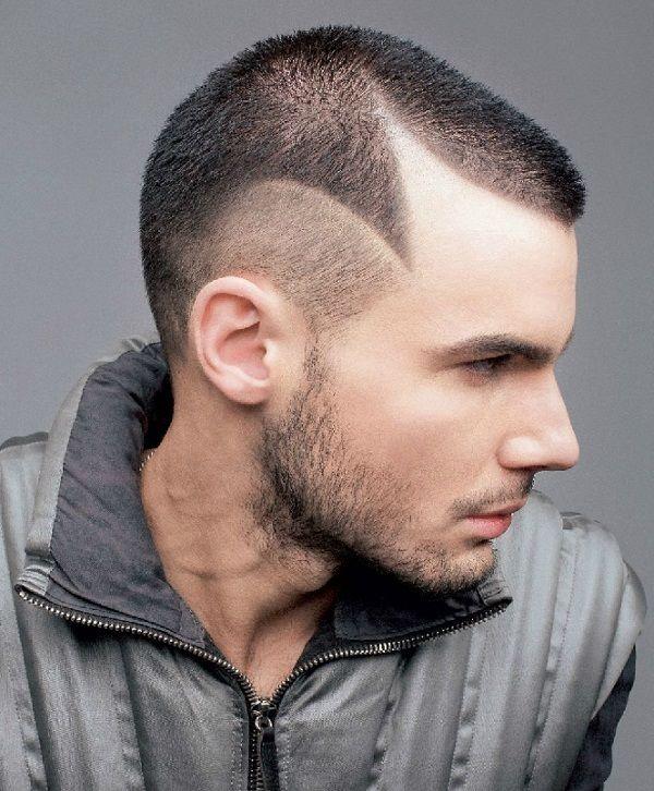 Креативные стрижки на мужские короткие волосы фото