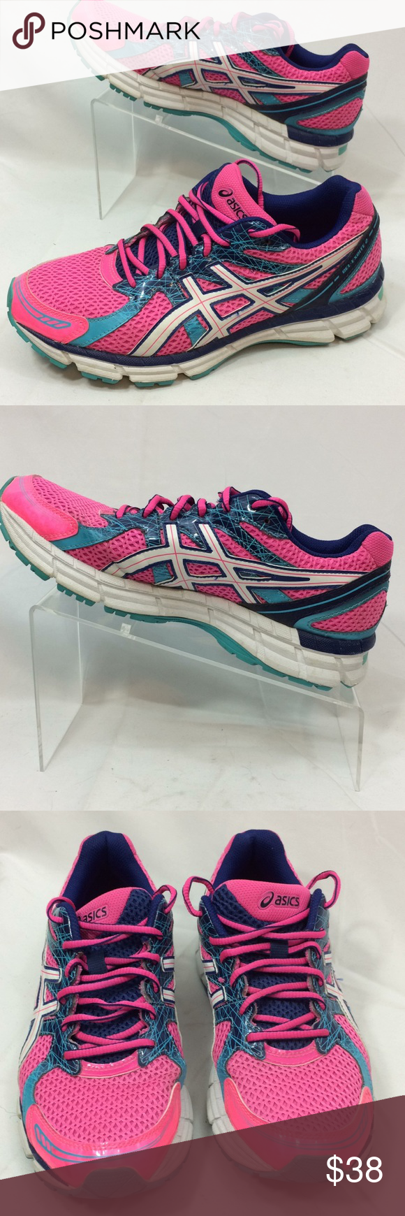 Asics Gel Excite Running Shoes Size 9   Running shoes, Shoes ...