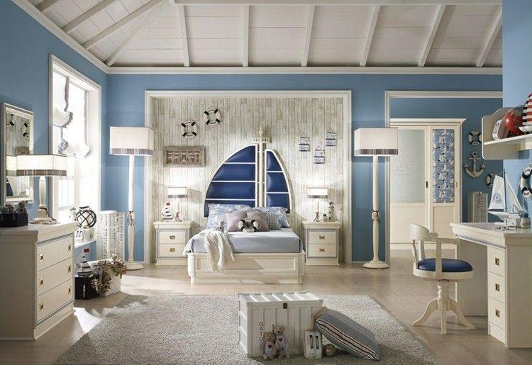Maritimes Flair im Kinderzimmer … | Pinteres…