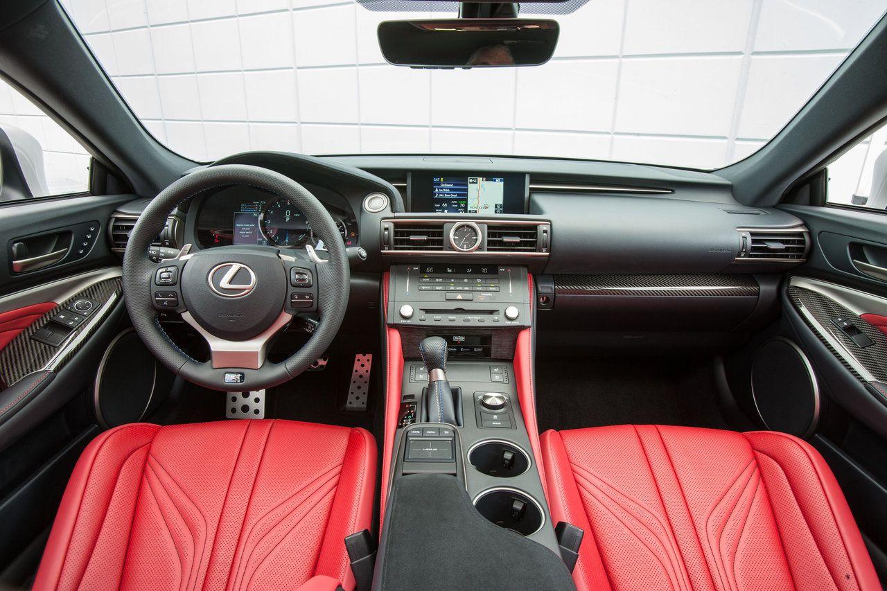 2015 Lexus Rc F Dashboard Interior Sports Car Pictures Gallery Used Lexus Lexus Lexus Cars