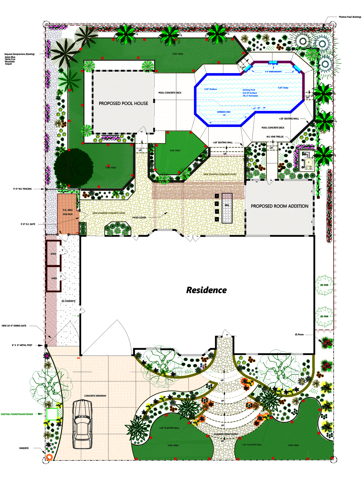 Residential Landscape Architecture Design Process For The Private Residence Pdf Free Download