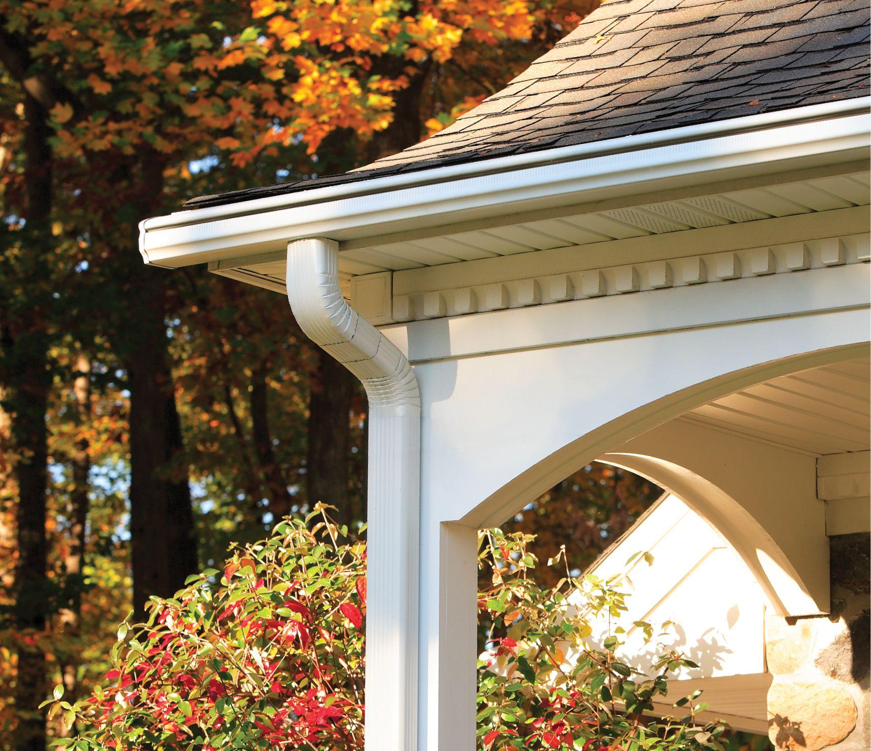 Leafguard Home Model Images Gutters Gutter Gutter Protection
