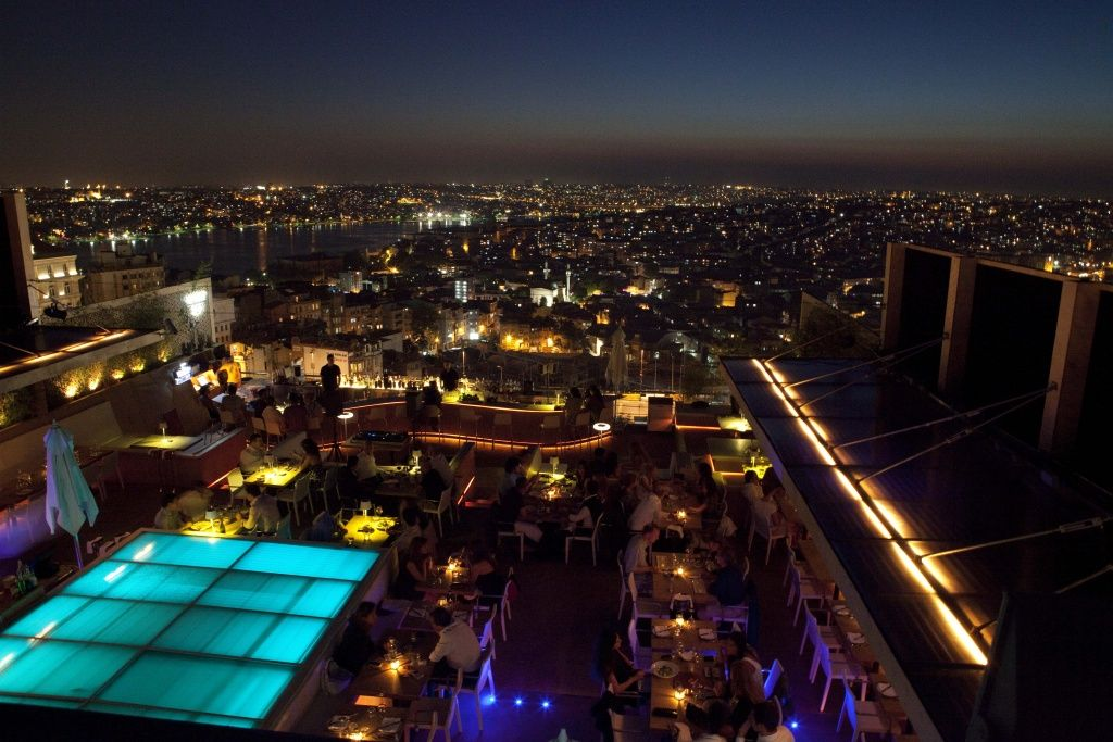 Vogue Istanbul Istanbul Istanbul Guide Rooftop