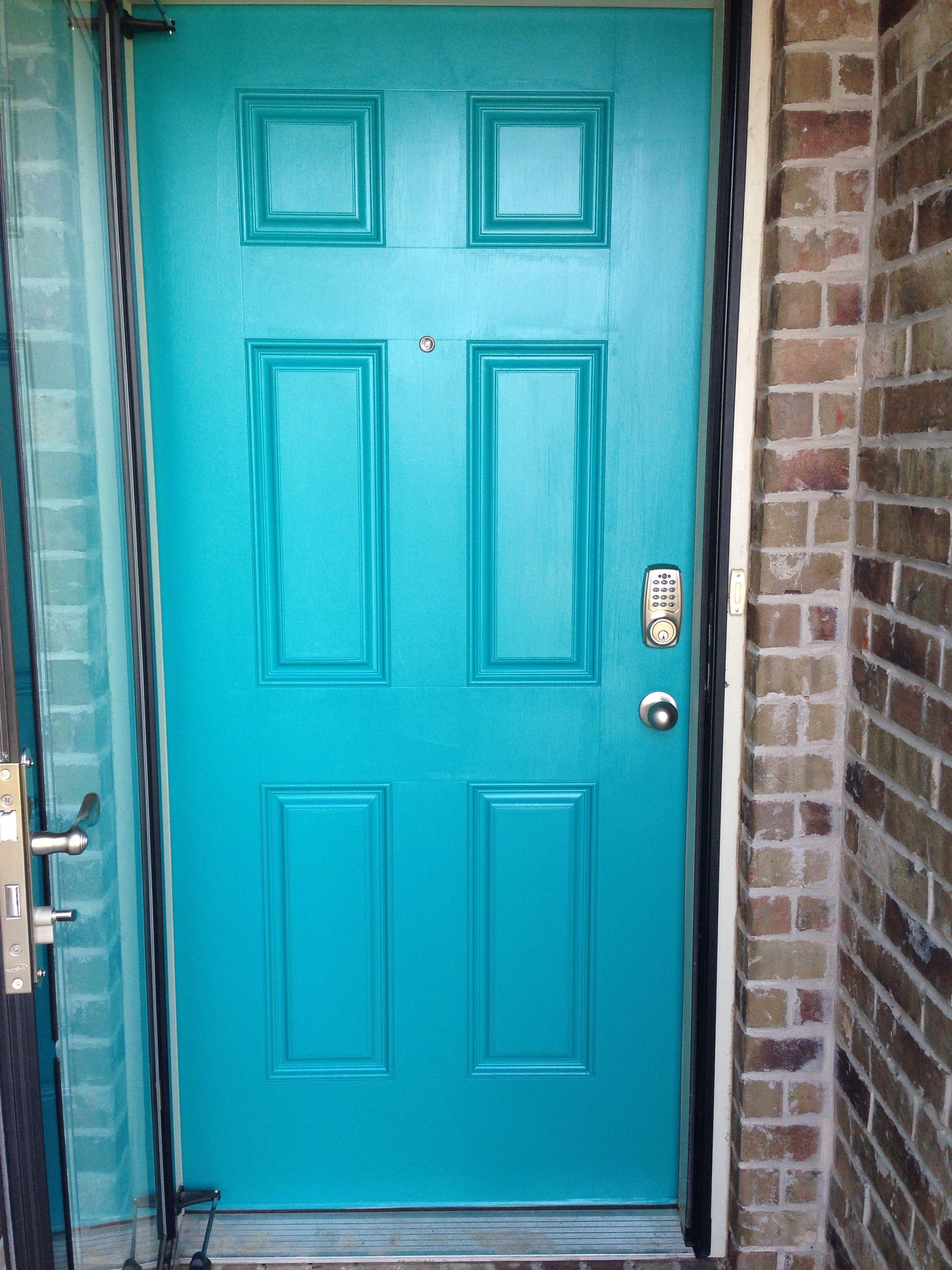 Valspar Turquoise Spray Paint La Fonda Turquoise Valspar Front Door For The Home Pinterest