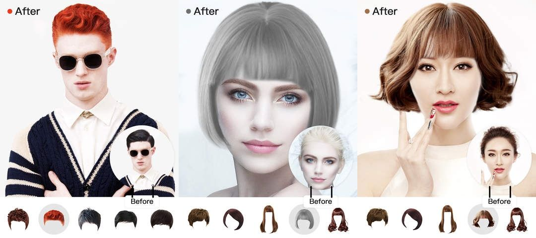 Super Best Hairstyle Apps 2020 For Men And Women Android Ios Schematic Wiring Diagrams Amerangerunnerswayorg