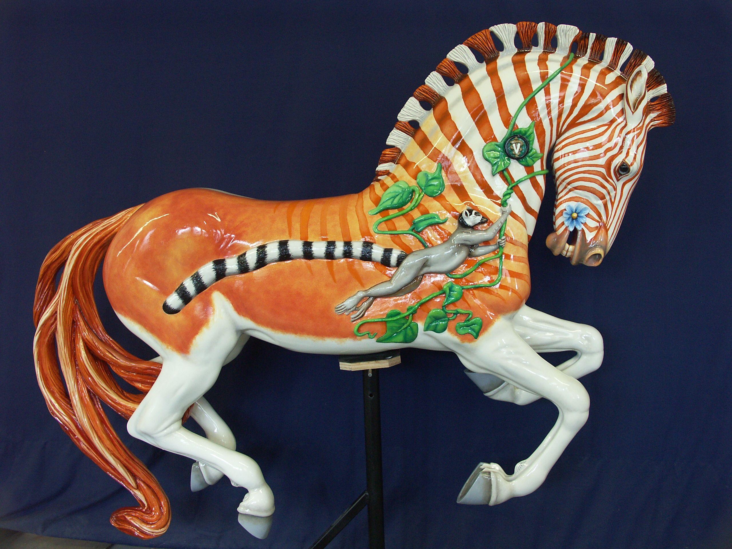 Unusual Carousel Animals