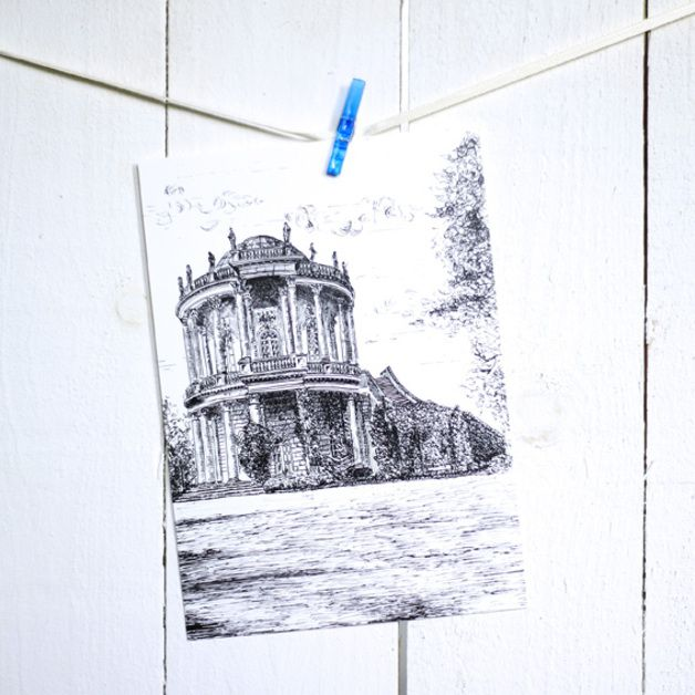 Postkarte - Belvedere