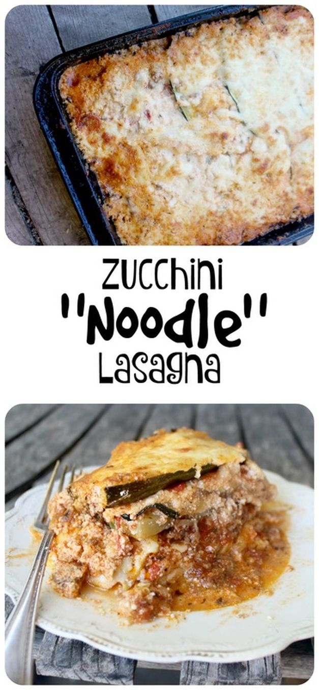A low carb, gluten-free (& primal) lasagna that uses sliced zucchini for the noodles! Oh, it's good!