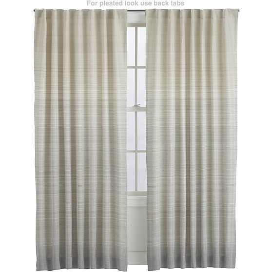 wren curtain panels in curtains crate and barrel - Crate And Barrel Curtains